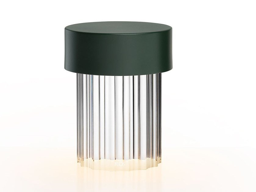 LED cordless table lamp LAST ORDER FLUTED by Flos