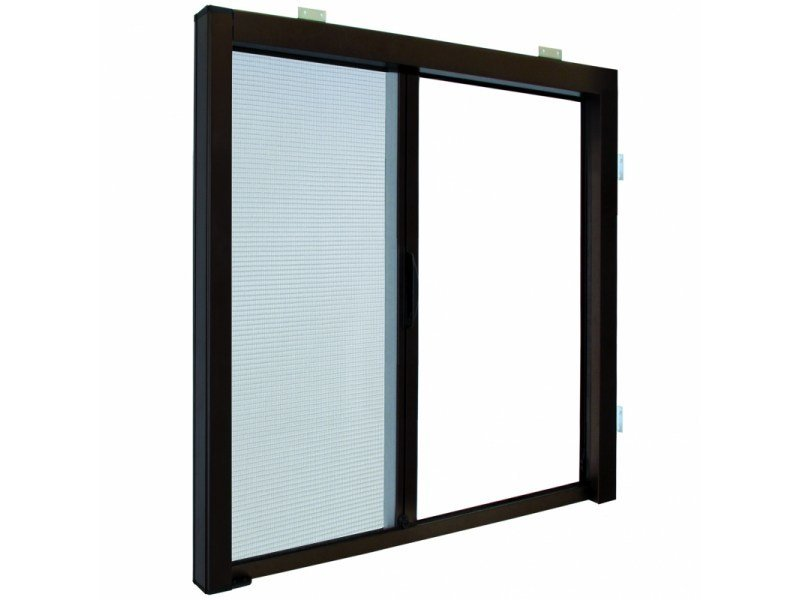 Built-in insect screen with guide system LATERAL 42 | Built-in insect screen by Teknika