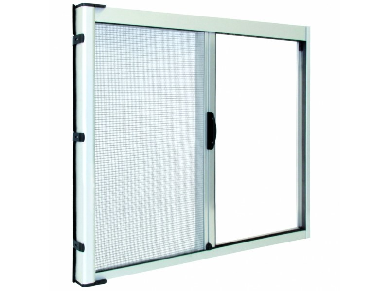 Insect screen with guide system LATERAL 42 by Teknika