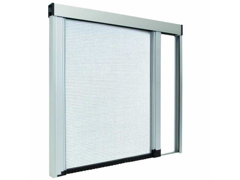 Insect screen with guide system LATERAL COMFORT by Teknika