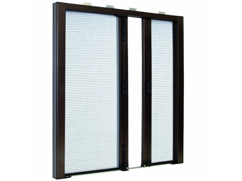 Built-in insect screen with guide system LATERAL SPECIAL DUPLEX 42   Built-in insect screen by Teknika