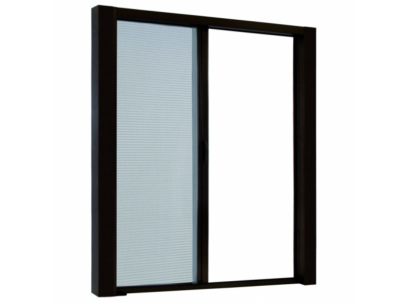 Built-in insect screen with guide system LATERAL TOP LINE by Teknika