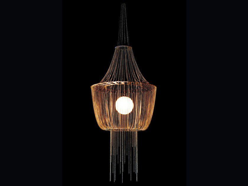 Pendant lamp LATERN by Willowlamp