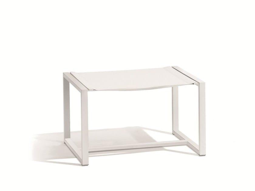 Rectangular garden side table LATONA | Footstool by MANUTTI