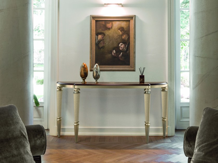 Marble console table LAURIE by Longhi