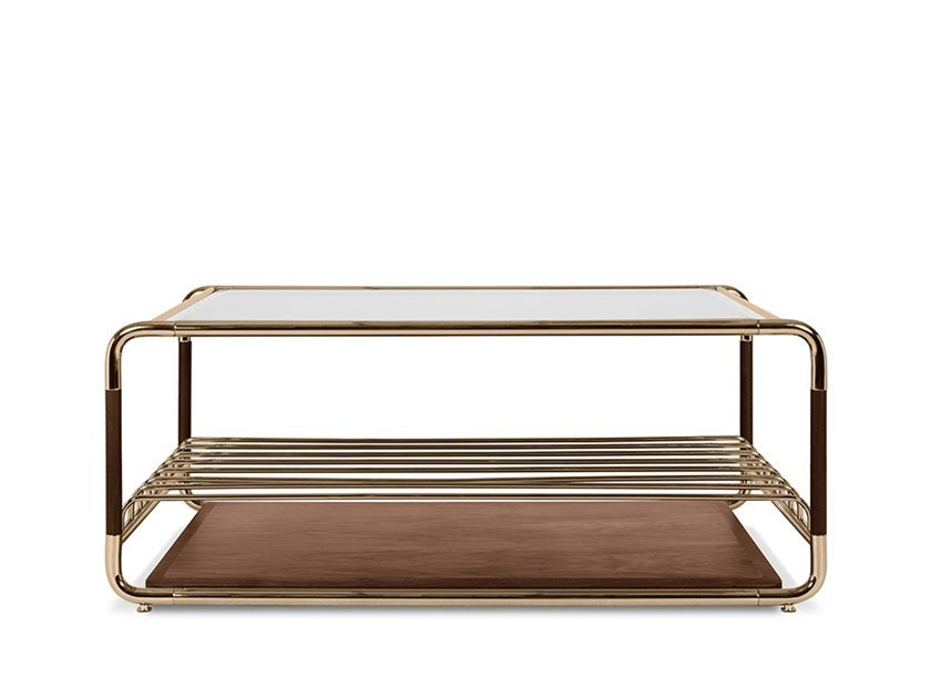 Coffee table with storage space LAUTNER | Coffee table with storage space by Delightfull