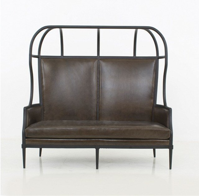 2 seater fabric sofa LAVAL CROWN CHAIR WITH OPENED ROOF by STELLAR WORKS