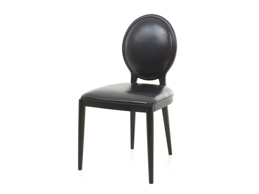 Medallion leather chair LAVAL   Chair by STELLAR WORKS