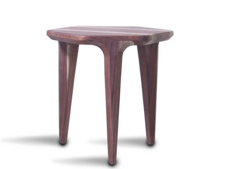 Wooden stool LAYAIR | Stool by HOOKL und STOOL
