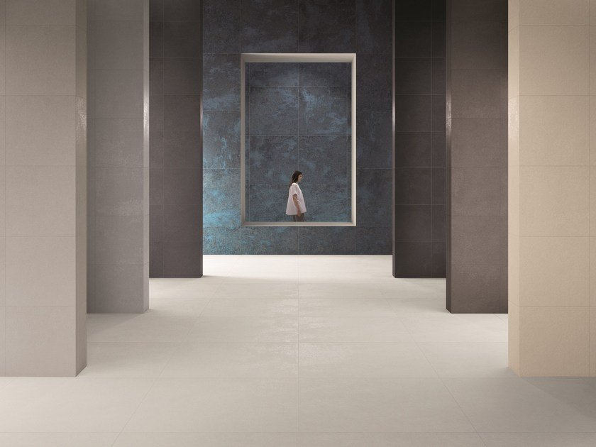 Porcelain stoneware wall/floor tiles LAYERS by Ceramiche Caesar