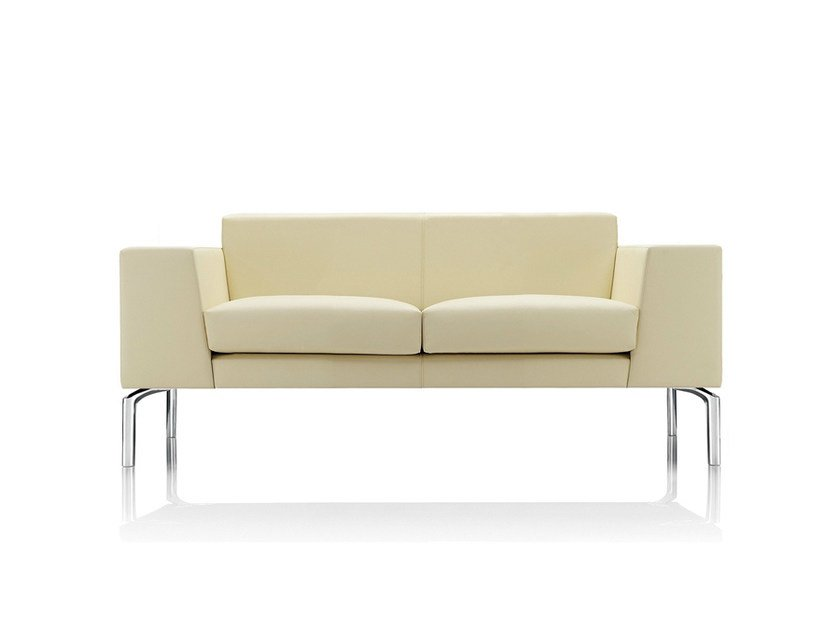 2 seater leather sofa LAYLA   2 seater sofa by Boss Design