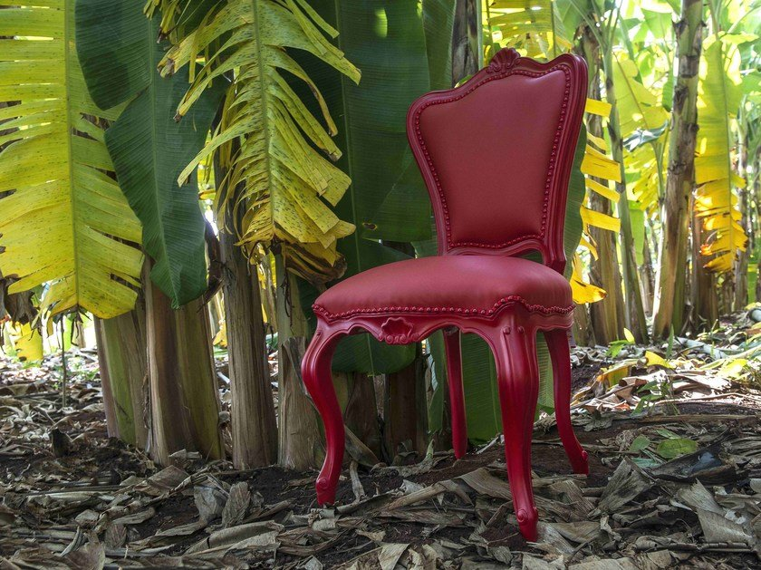 Garden chair with armrests LAZY ELEONORA by POLaRT