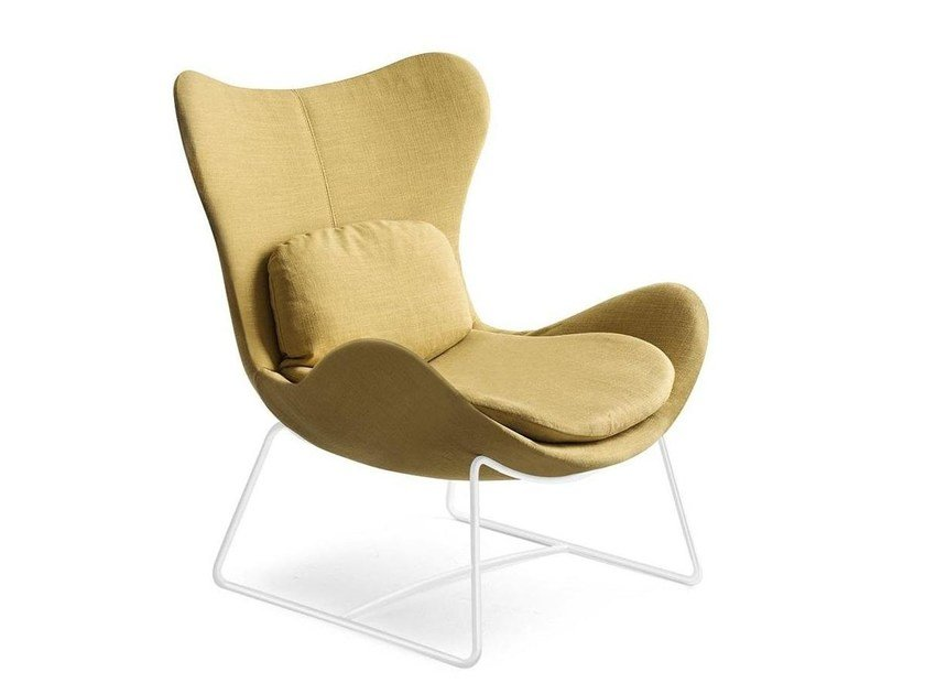 Poltrona Lazy Calligaris.Lazy Sled Base Armchair By Calligaris Design Michele