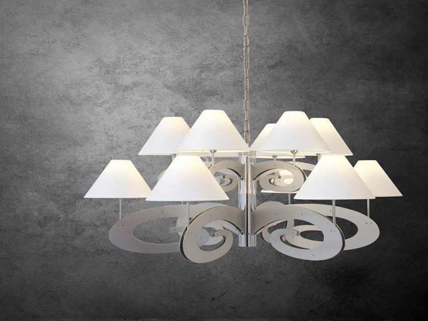 Metal pendant lamp LAZY SUNDAY H12+1 by ILFARI