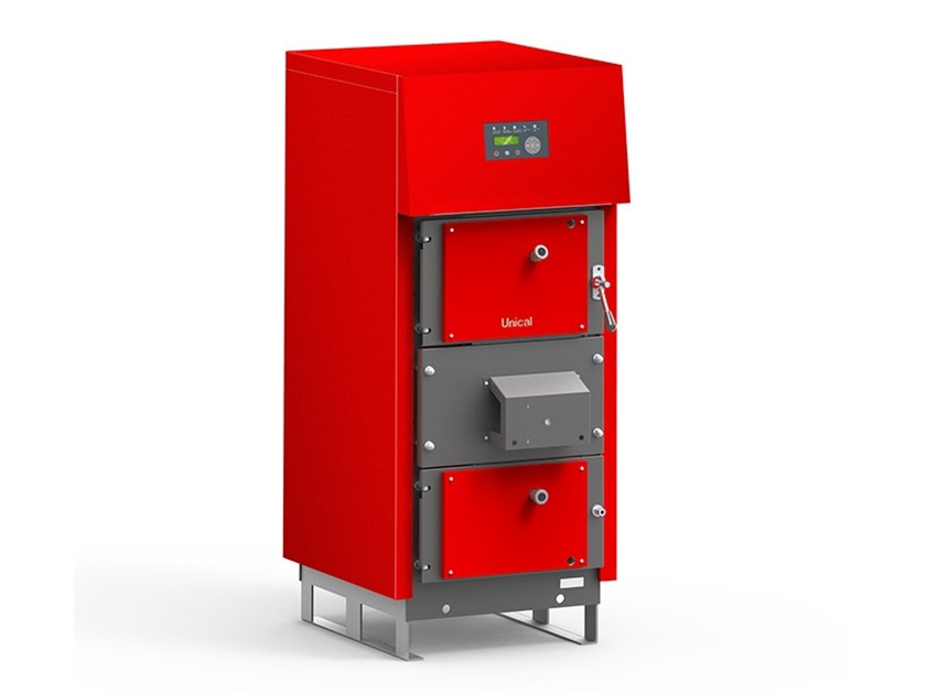 Wood-burning pellet boiler LAmix by Unical AG