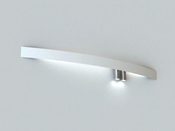 Led extruded aluminium wall lamp lbs wall lamp by luciferos