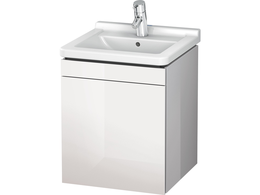 Wall-mounted vanity unit with doors LC 6168 | Vanity unit with doors by Duravit