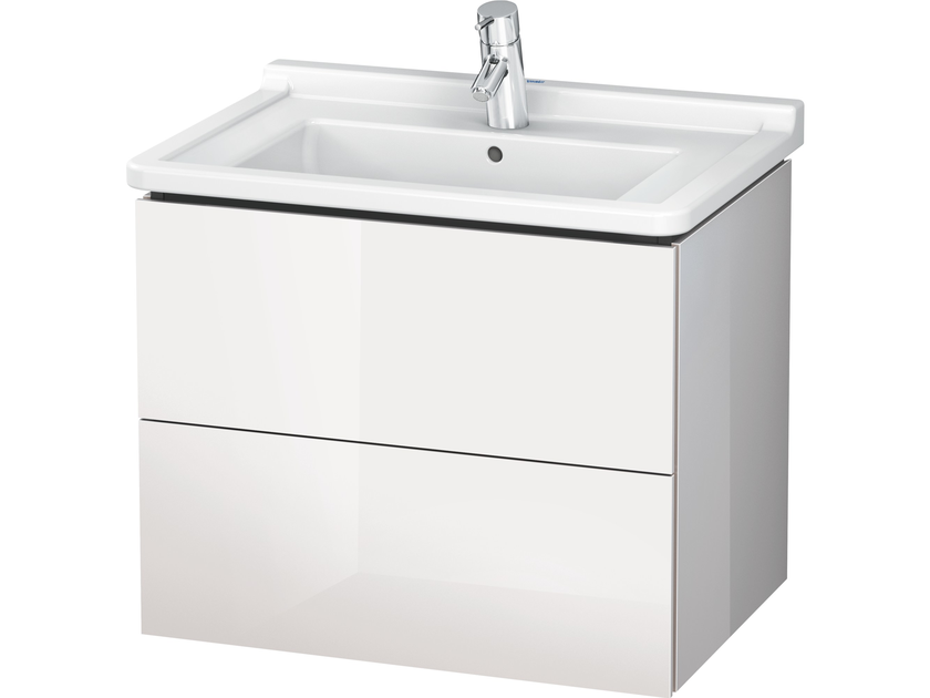 Wall-mounted vanity unit with drawers LC 6264 | Vanity unit with drawers by Duravit