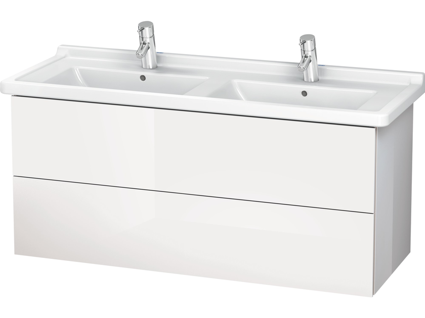 Double vanity unit with drawers LC 6267 | Double vanity unit by Duravit