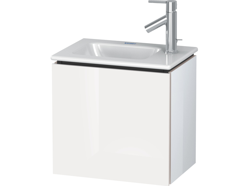 Wall-mounted vanity unit with doors LC 6272 | Vanity unit by Duravit