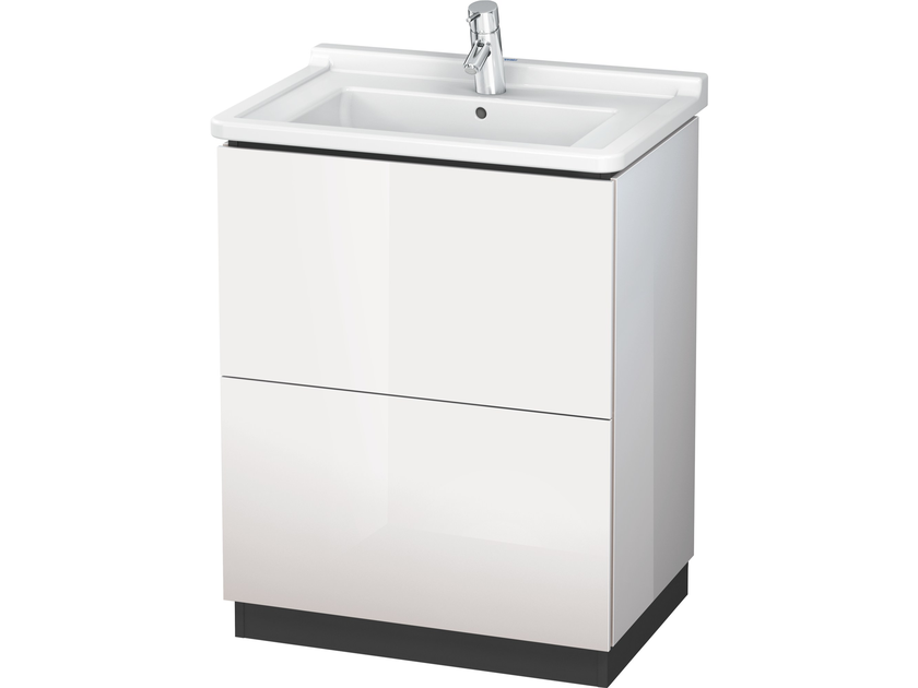 Vanity unit with drawers LC 6620 | Vanity unit with drawers by Duravit