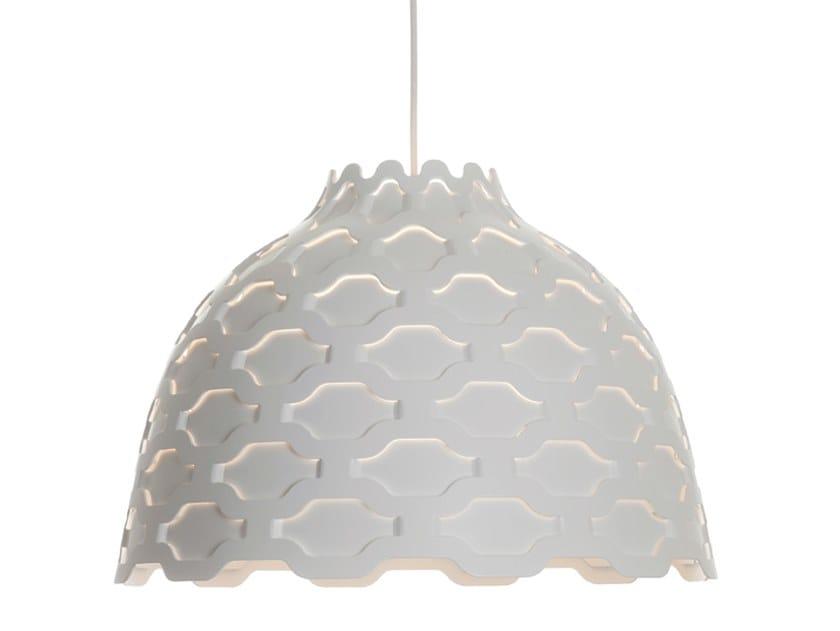 Lampada a sospensione a luce diretta in alluminio LC SHUTTERS by Louis Poulsen