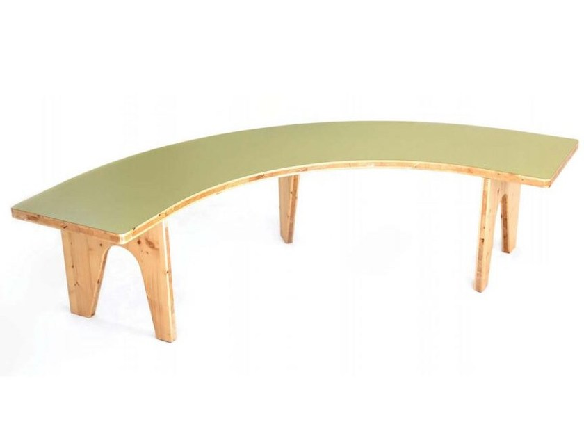 Modular wooden bench LE HASARD | Bench by smarin