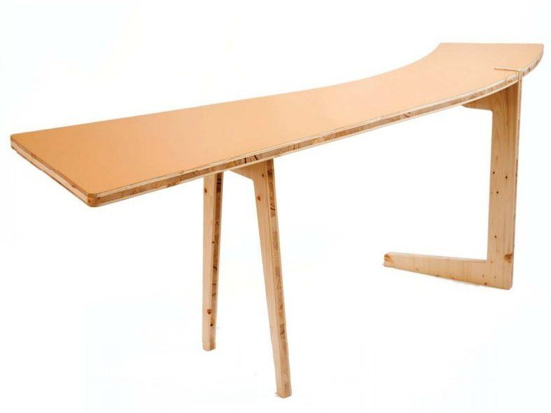 Wooden writing desk LE HASARD | Wooden writing desk by smarin