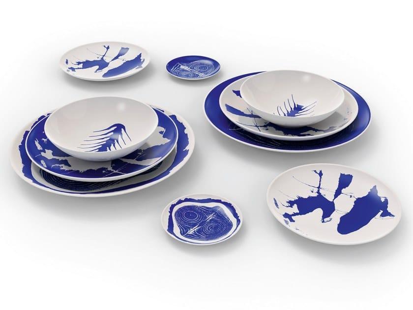 Set di piatti in porcellana LE MONDE DE CHARLOTTE PERRIAND by Cassina