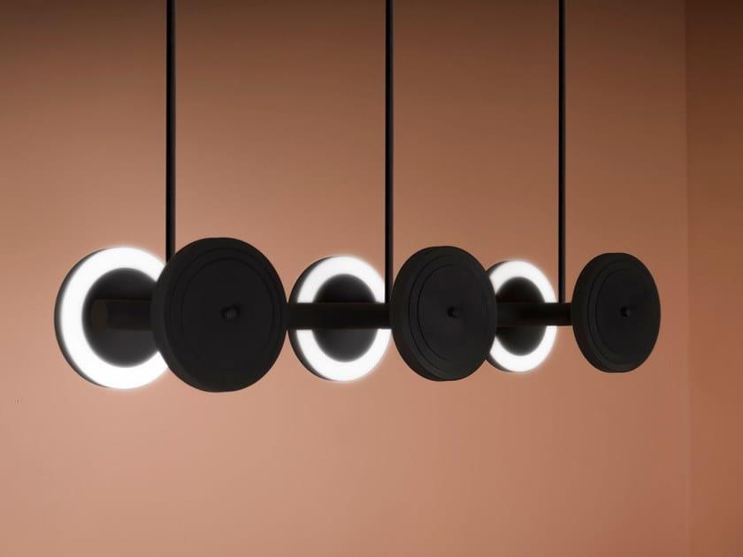 LED ceiling lamp LE ROYER - LARGE 01 by Larose Guyon