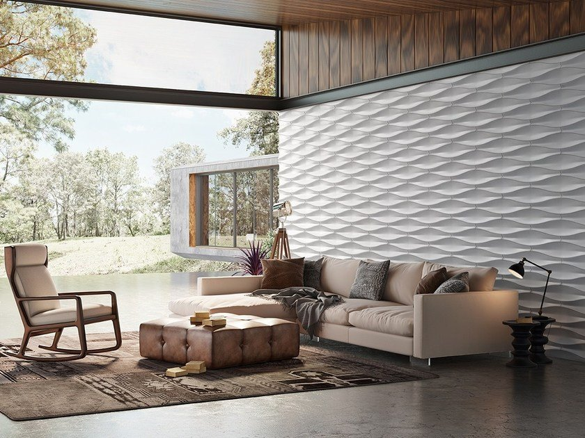 Indoor/outdoor 3D Wall Cladding LEAF by ACL