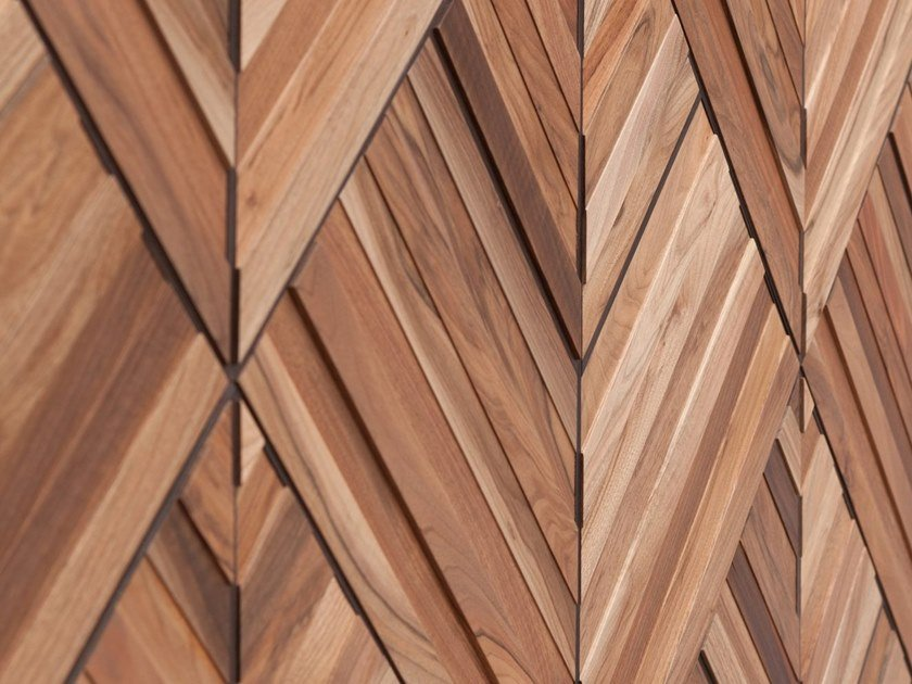 Wooden 3D Wall Cladding LEAF by Wonderwall Studios
