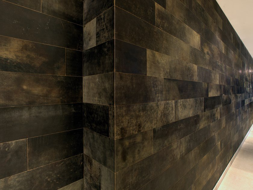 leather wallfloor tiles leather tiles for floor walls by freund gmbh - Leather Floor Tile