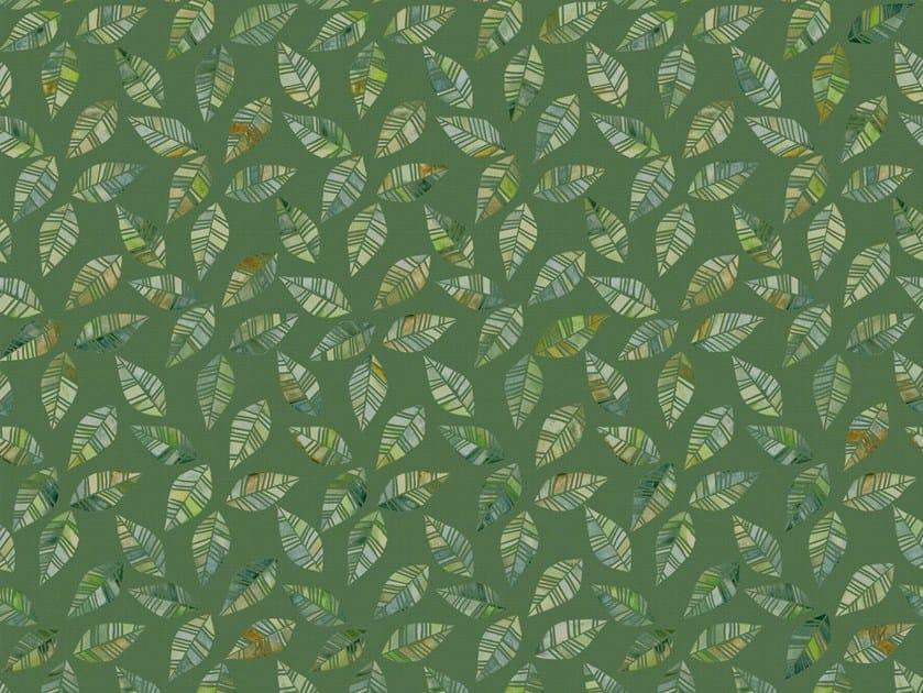 Motif wallpaper LEAVES by Tecnografica Italian Wallcoverings