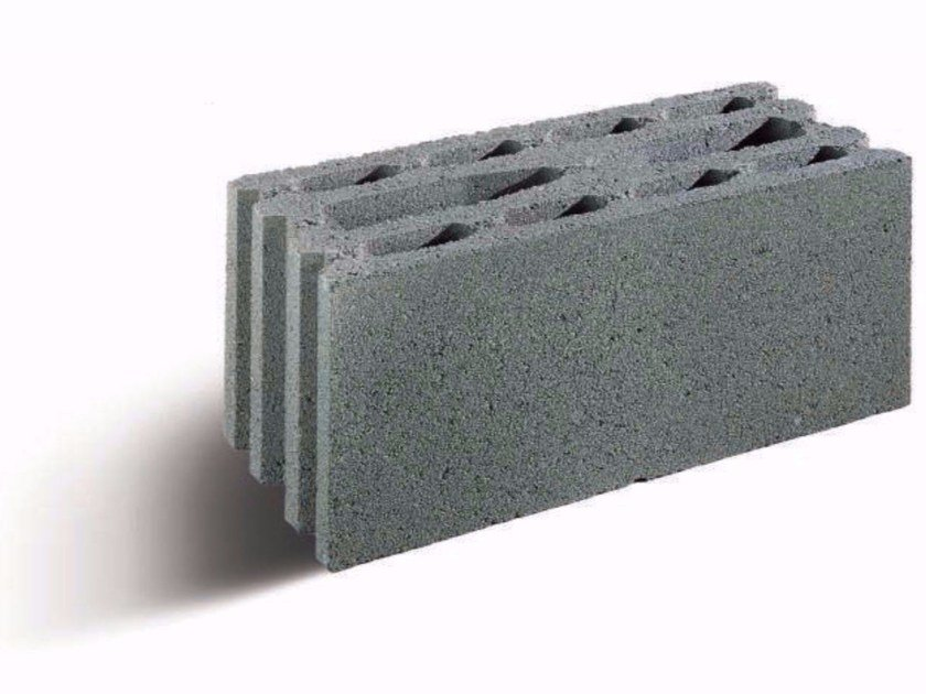 Lightweight concrete block for fire resistance LECABLOCCO TAGLIAFUOCO by Anpel
