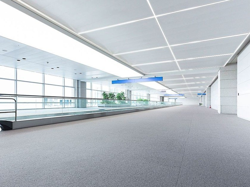Built-in lighting profile for LED modules LED 011 by Profilgessi