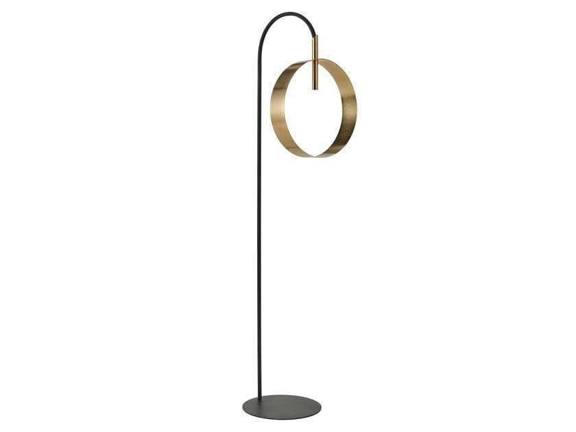 LED metal floor lamp LED LOOP PT by RIFLESSI