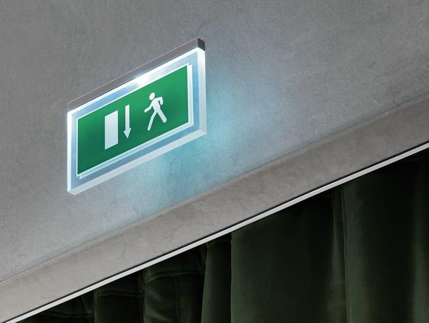 LED emergency light for signage LED ME GO by FontanaArte