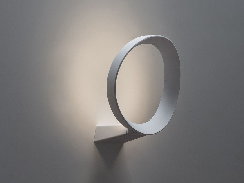 Indirect light wall lamp LED+O by Martinelli Luce