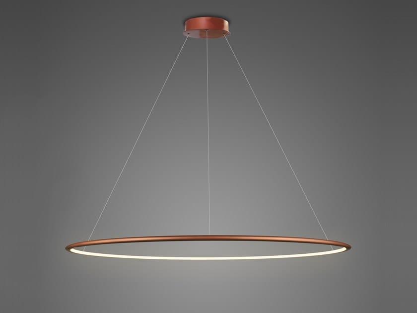 Lampada a sospensione a LED in alluminio LED RING NO.1 by Altavola Design