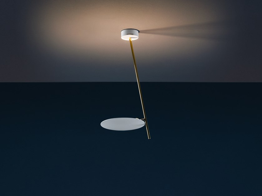 LED ceiling lamp LEDERAM C1 by Catellani & Smith