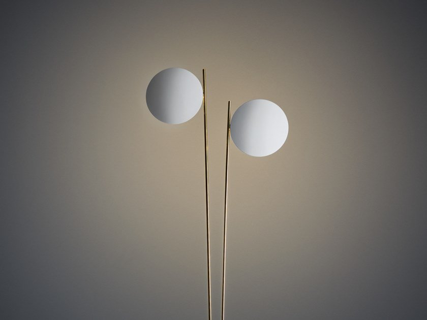 LED floor lamp LEDERAM F2 by Catellani & Smith