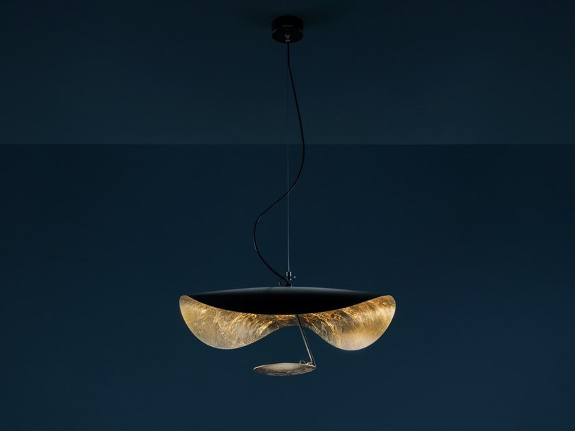 LED pendant lamp LEDERAM MANTA S1 by Catellani & Smith
