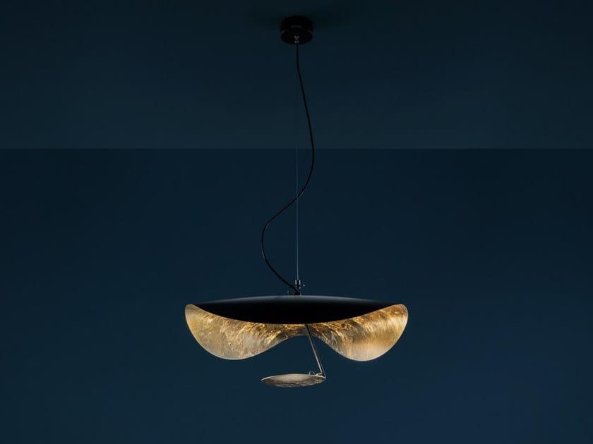 LED pendant lamp LEDERAM MANTA S1 by Catellani & Smith