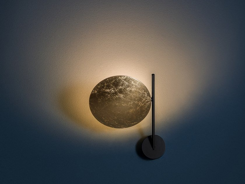LED wall lamp LEDERAM WB1 by Catellani & Smith