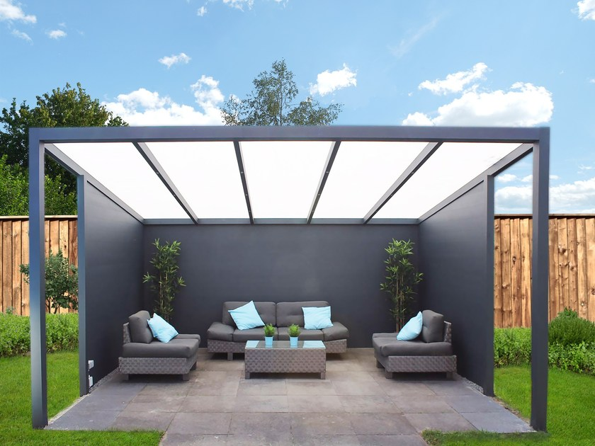 Freestanding aluminium pergola LEGEND EDITION by Gardendreams