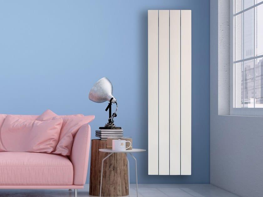 Wall-mounted radiator LEGGERO by RIDEA