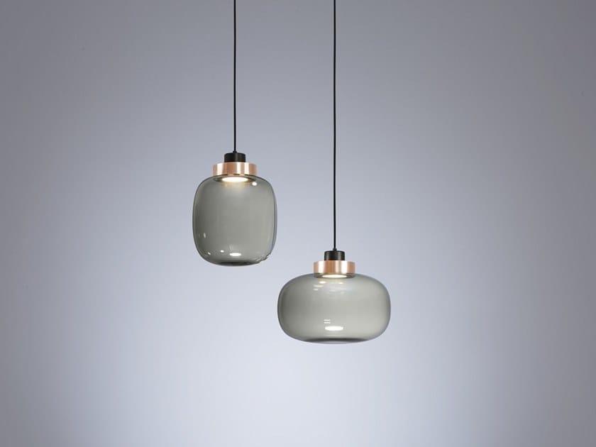 Lampade In Vetro A Sospensione : Legier lampada a sospensione by tooy