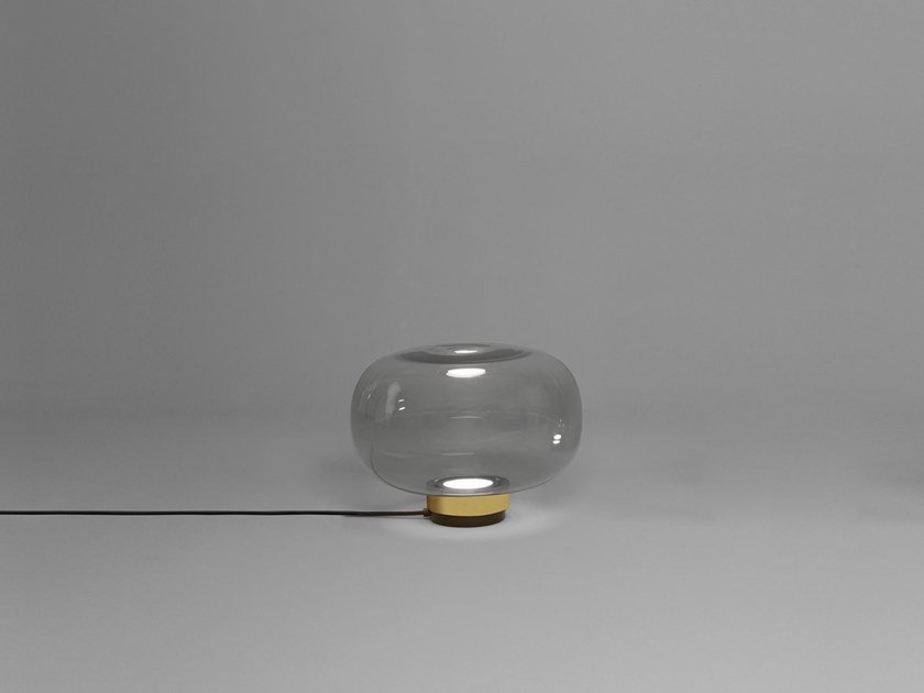 LED blown glass table lamp LEGIER | Table lamp by Tooy
