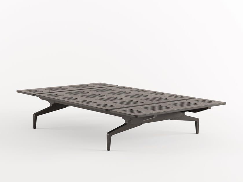 Letto in alluminio e legno LEGNOLETTO 120 - LL0_120 by Alias